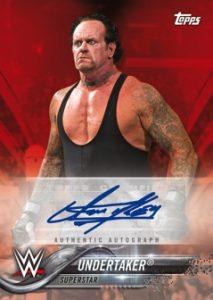 Autographs Red Undertaker