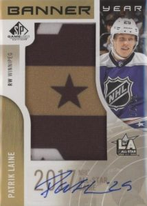 Banner Year Autographs NHL All-Star Game Patrik Laine