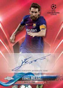 Base Auto Lionel Messi