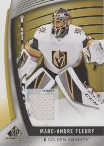 Base Gold Jersey Relic Marc-Andre Fleury