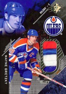 Base Premium Materials Wayne Gretzky
