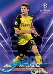 Base Purple Refractor Christian Pulisic