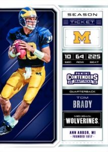 Base Season Ticket Tom Brady