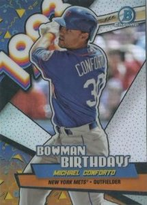 Bowman Birthdays Mchael Conforto