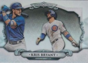 Bowman Sterling Continuity Kris Bryant