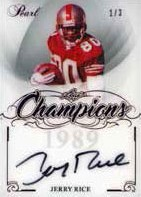 Champions Autos Jerry Rice
