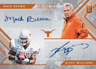 College Ties Auto Mack Brown, Ricky Williams