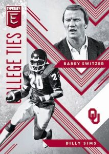 College Ties Barry Switzer, Billy Sims