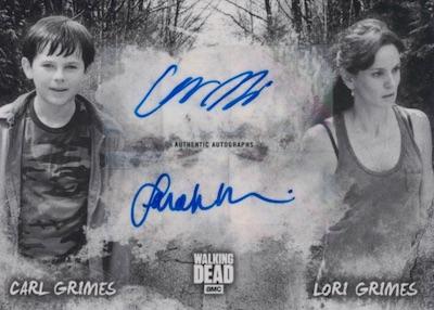 Dual Autos Carl Grimes, Lori Grimes