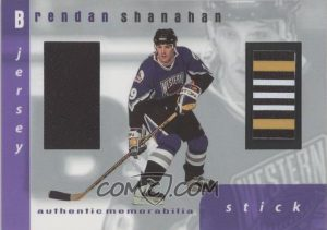 Game-Used Jersey and Stick Brendan Shanahan