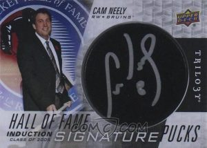 Hall of Fame Signature Pucks Cam Neely