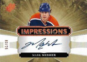 Impressions Autographs Mark Messier