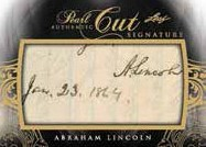 Pearl Cuts Abraham Lincoln