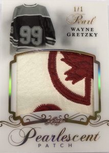 Pearlescent Patch Wayne Gretzky