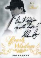 Pearls of Wisdom Nolan Ryan
