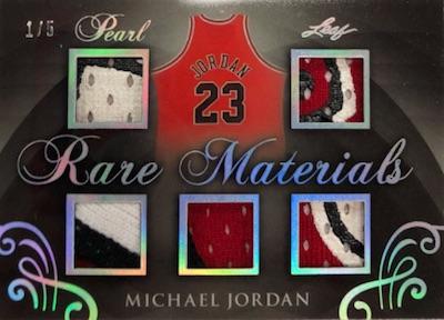 Rare Materials Michael Jordan