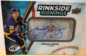 Rinkside Signings Marcel Dionne
