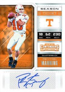 Season Ticket Signatures Peyton Manning