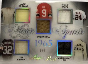 The Year in Sports Jack Nicklaus, Bobby Hull, Willie Mays, Jim Brown, Muhammad Ali