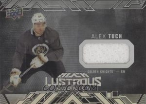 UD Black Lustrous Rookies Jersey Alex Tuch
