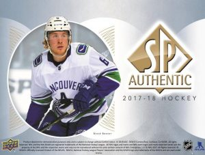 2017-18 SP Authentic Odds
