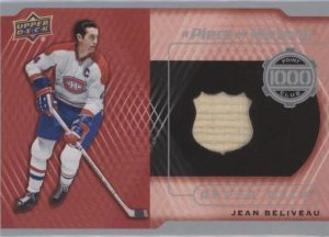 A Piece of History 1000 Point Club Jean Beliveau