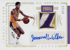 All-Decade Memorabilia Signatures Gold Jamal Wilkes