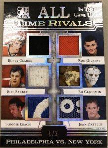 All-Time Rivals Bobby Clarke, Bill Barber, Reggie Leach, Rod Gilbert, Ed Giacomin, Jean Ratelle