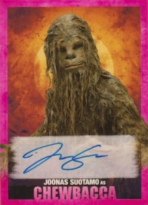 Autographs Chewbacca