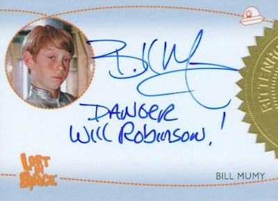 Inscription Autos Bill Mumy