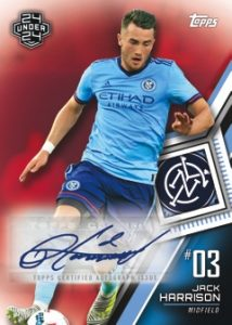 Base Auto Red Jack Harrison