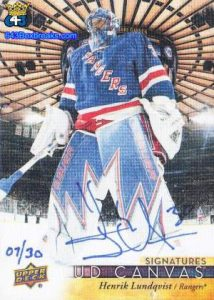 Canvas Signatures Henrik Lundqvist