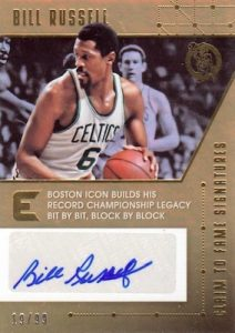 Claim to Fame Signatures Bill Russell