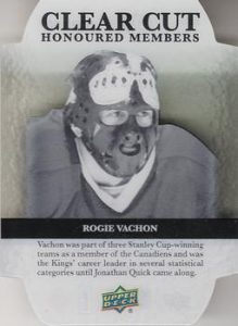 Clear Cut Honoured Members Rogie Vachon