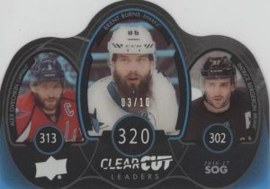 Clear Cut Leaders Alex Ovechkin, Brent Burns, Patrice Bergeron