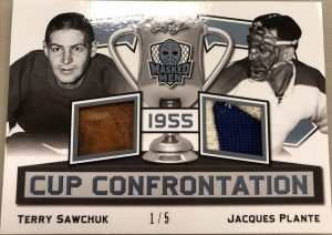 Cup Confrontation Terry Sawchuk, Jacques Plante