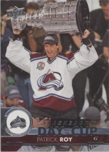Day With The Cup Flashbacks Patrick Roy