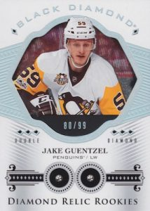 Diamond Relics Rookie Gems Update Jake Guentzel
