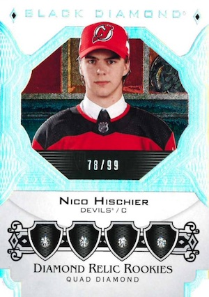 Diamond Relics Rookies Nico Hishier