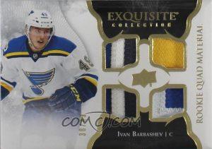 Exquisite Rookie Quad Material Ivan Barbashev