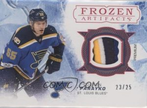 Frozen Artifacts Red Colton Parayko