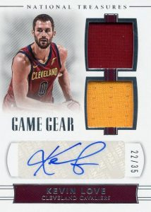 Game Gear Dual Auto Kevin Love