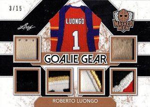 Goalie Gear Roberto Luongo