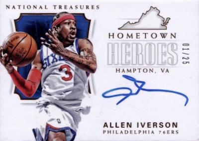 Hometown Heroes Autos Allen Iverson