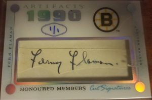 Honoured Members Cut Signature Fern Flaman