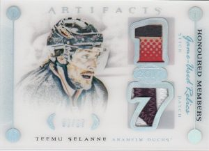 Honoured Members Relics Teemu Selanne