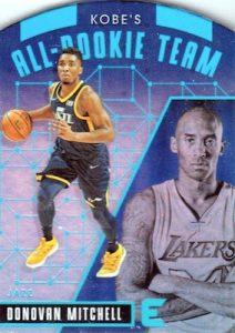 Kobe's All-Rookie Team Die Cuts Donovan Mitchell