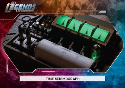 Legendary Objects Time Seismograph