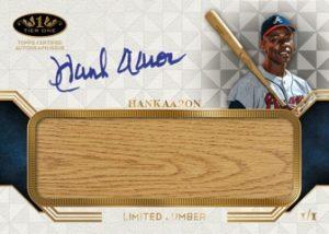 Limited Lumber Autos Hank Aaron