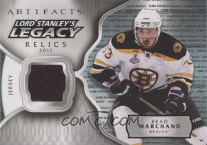 Lord Stanley's Legacy Relics Brad Marchand